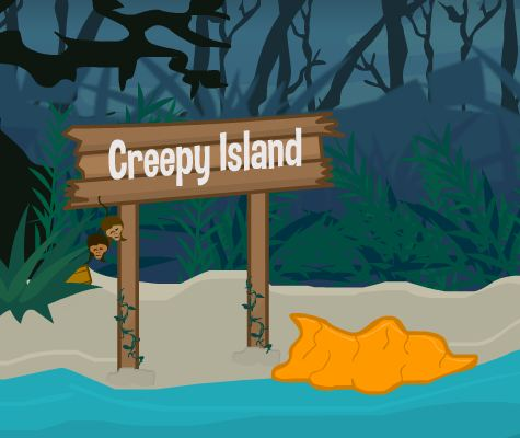 Flonga Escape Creepy Island