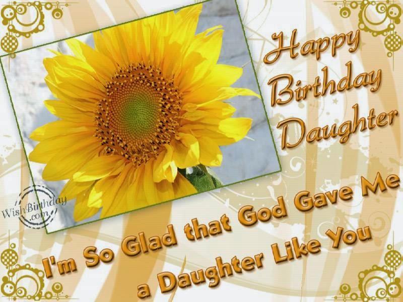 Birthday Wishes Daughter