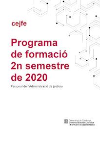 FORMACION CEJFE 2n SEMESTRE 2018