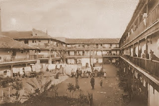 Corral del Conde a principios del siglo XX