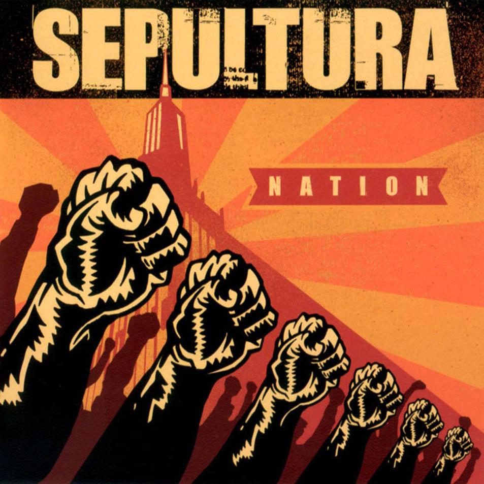 Sepultura - Nation  2001 Sepultura Chaos Ad Album
