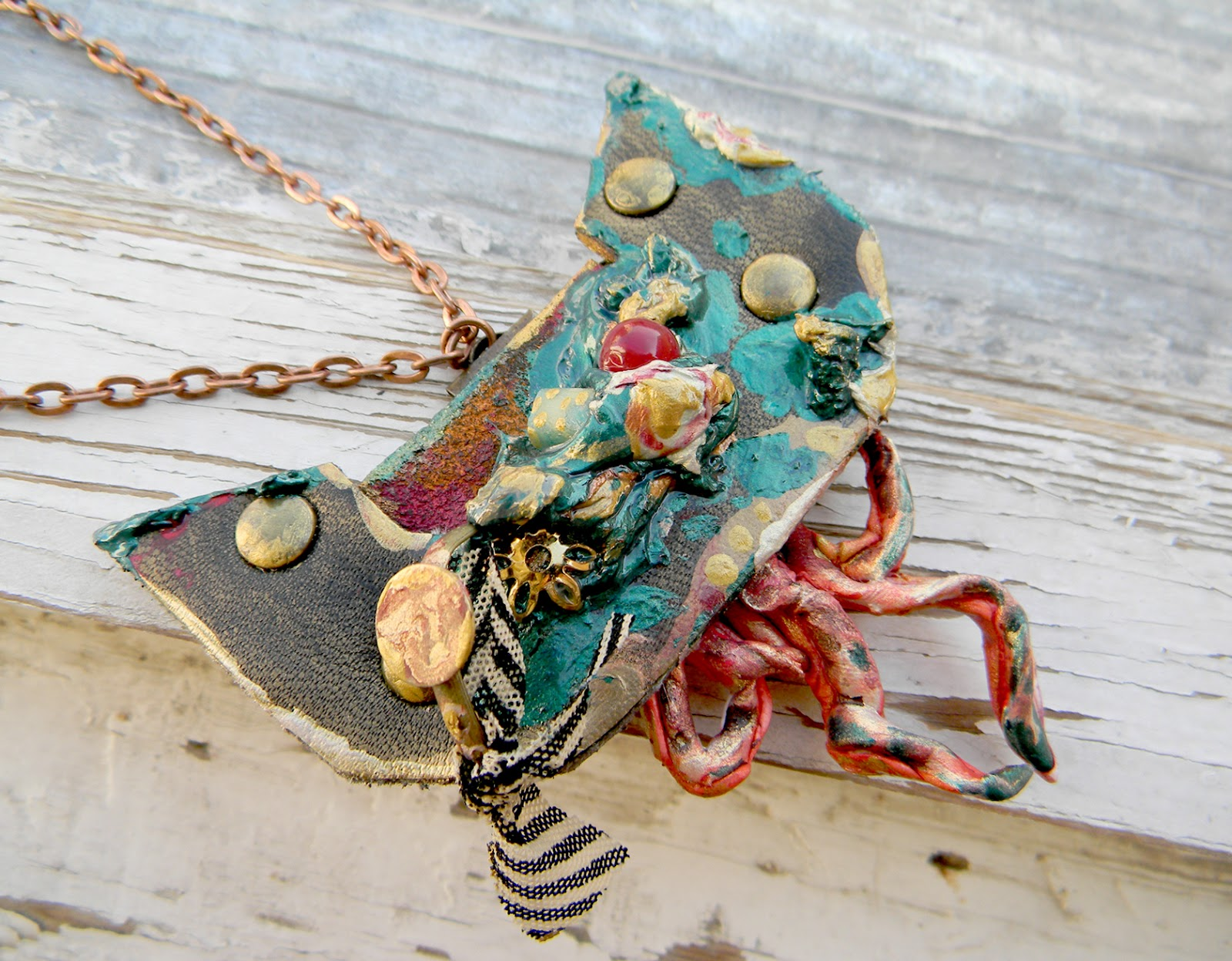 Abstract Contemporary Art Jewelry/Pendant