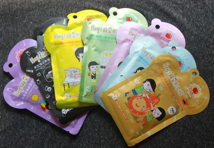 Hey! Pinkgo Girl Sheet Masks