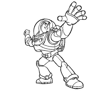 #6 Toy Story Coloring Page