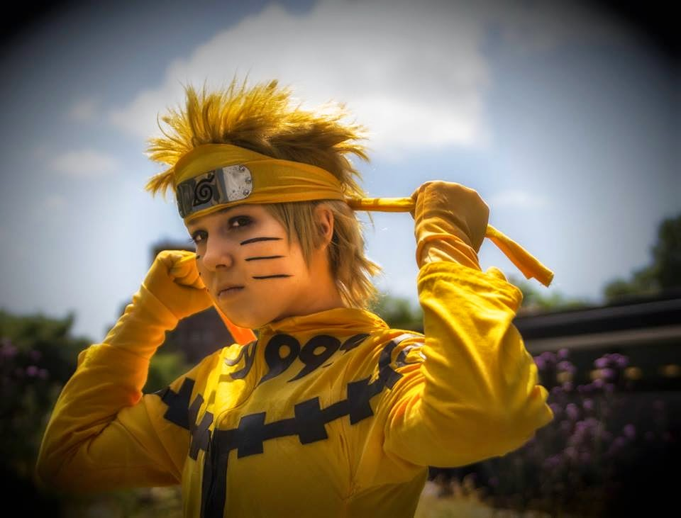 Naruto ready for War Cosplay