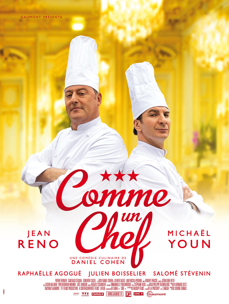 Cinoscar rarities las trampas de la cocina francesa for Chef en frances