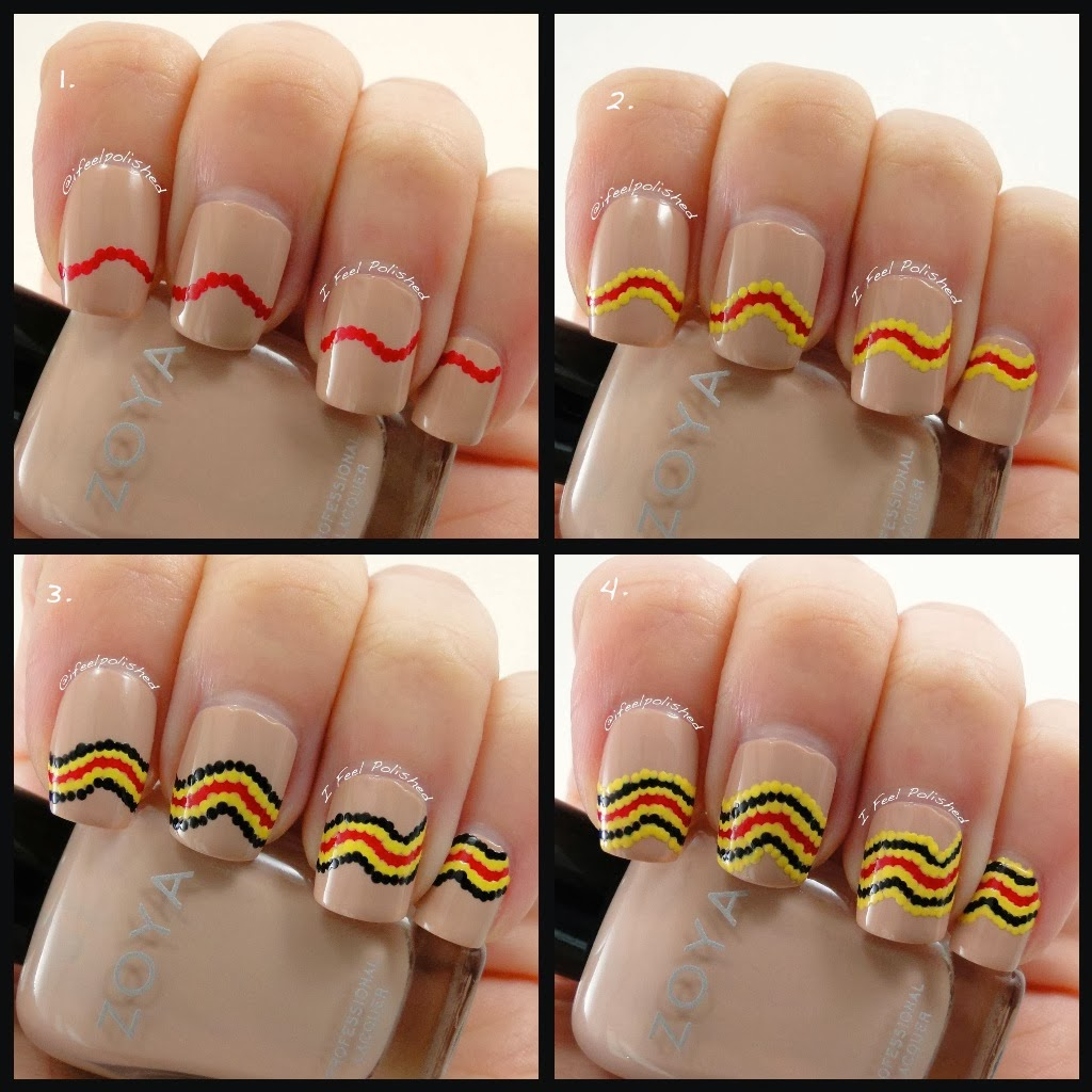 Snake Nail Art Tutorial