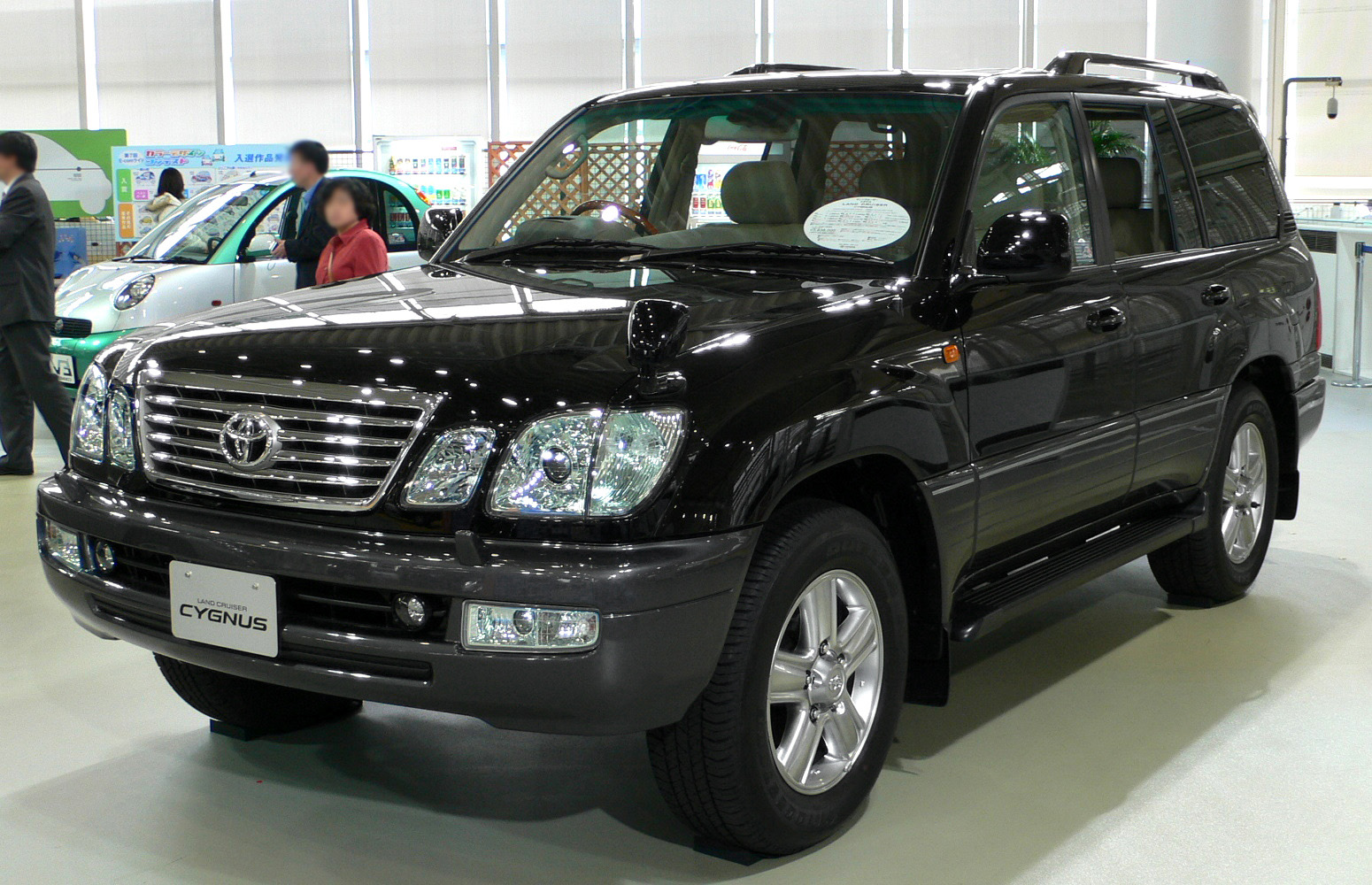 Car Images Toyota Land Cruiser Cygnus
