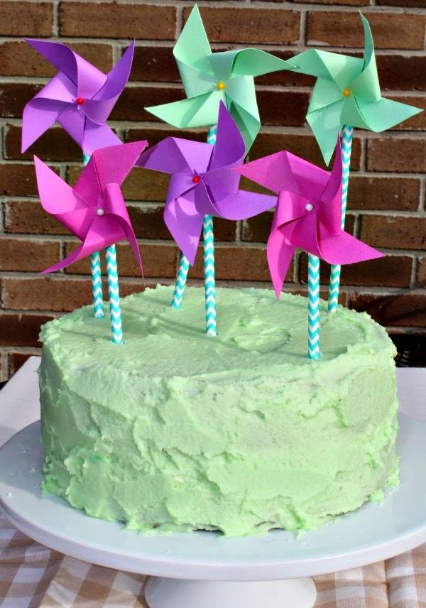 easy cake topper DIY