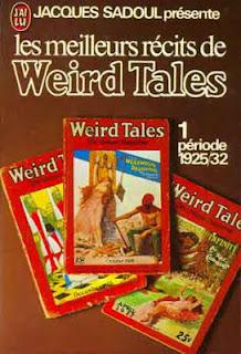 jaques Sadoul présente Les meilleurs récits de Weird Tales - Tome 1