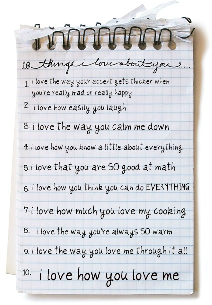 ten things i like about you