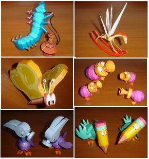 Alice in wonderland papercraft part1 papercraft free for Alice in wonderland crafts