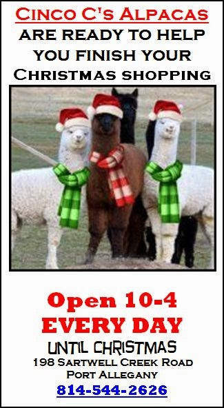Unique Gifts At Cinco C Alpacas