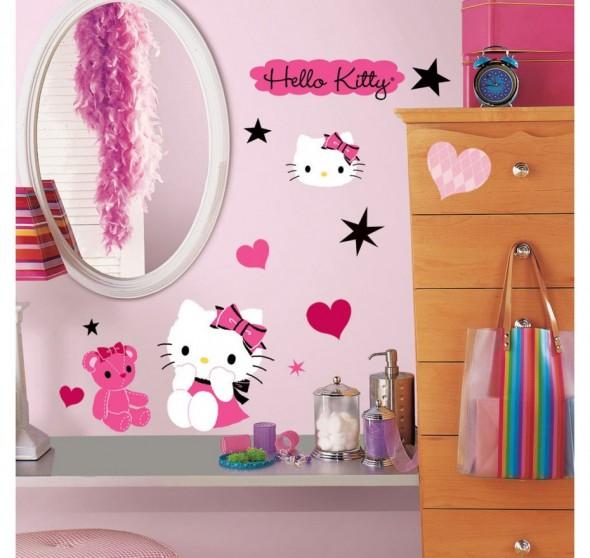 Hello Kitty Bedroom Decorations