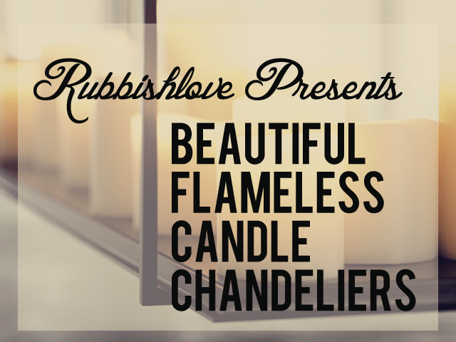 Flameless Candle Chandelier Chandeliers Design – Chandelier with Candles