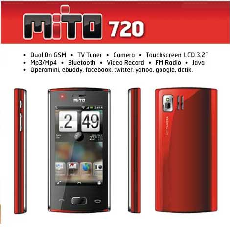 Gambar Foto wallpaper hp Mito 720