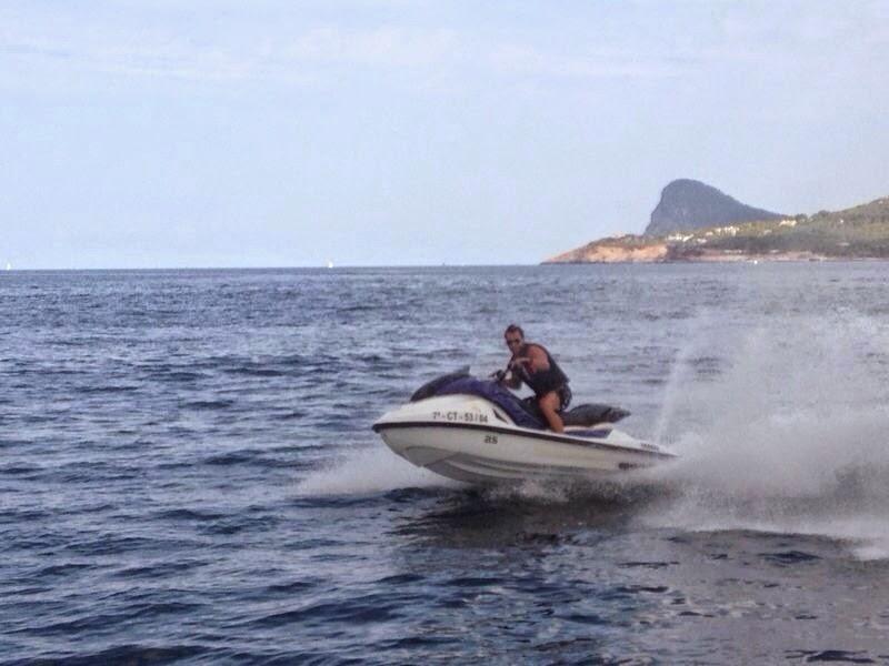 Jetski con La Otra Ibiza