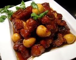 món ăn ngon: thịt kho trứng chim cút
