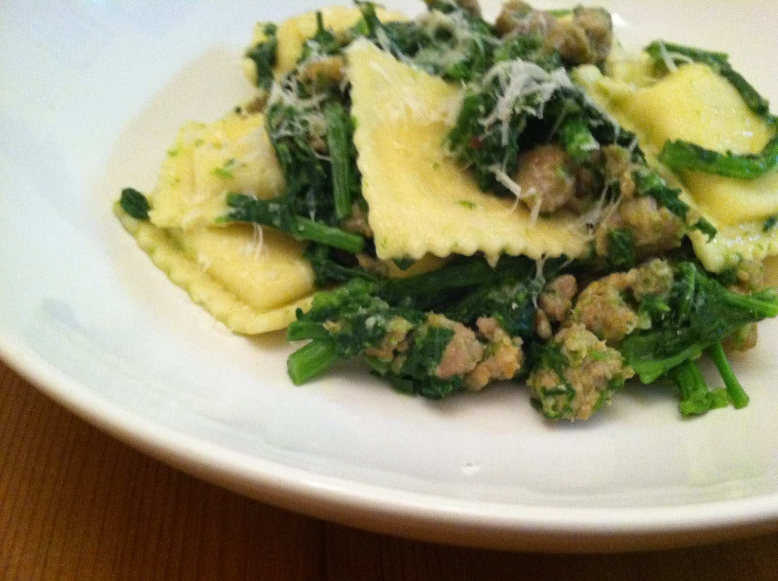 how to cook broccoli rabe in microwave