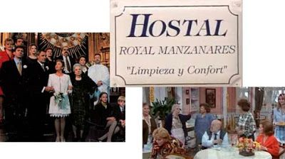 Serie Hostal Royal Manzanares, TVE, Lina Morgan