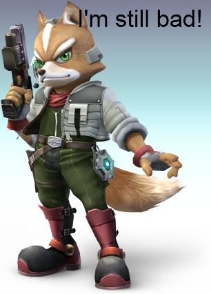"""starfox-fox-mccloud-brawl-nintendo"""