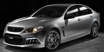 Holden Rolls Senators LS3