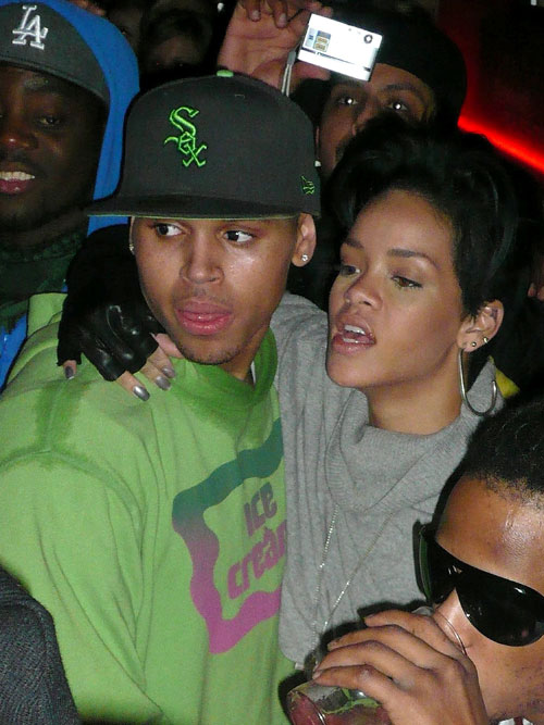 Karrueche Tran And Rihanna Physical Fight hiding out with Rihanna at