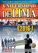 Examen U. de Lima 6 marzo 2016