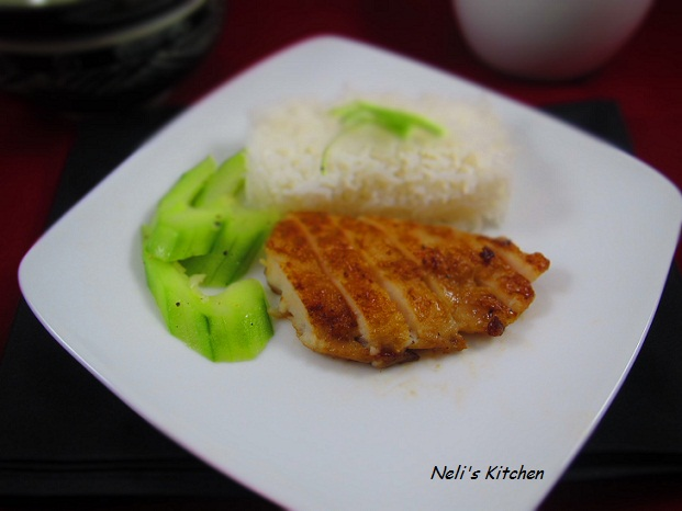 Fried Fish in Soy Sauce and Ginger