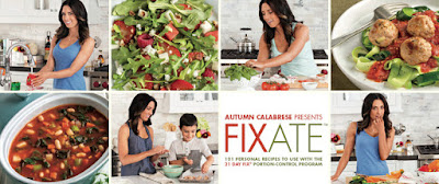 Fixate, 21 Day Fix Cookbook, Giveaway, www.HealthyFitFocused.com, Julie Little