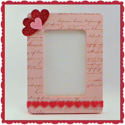 Valentine's Day, Photo Frame