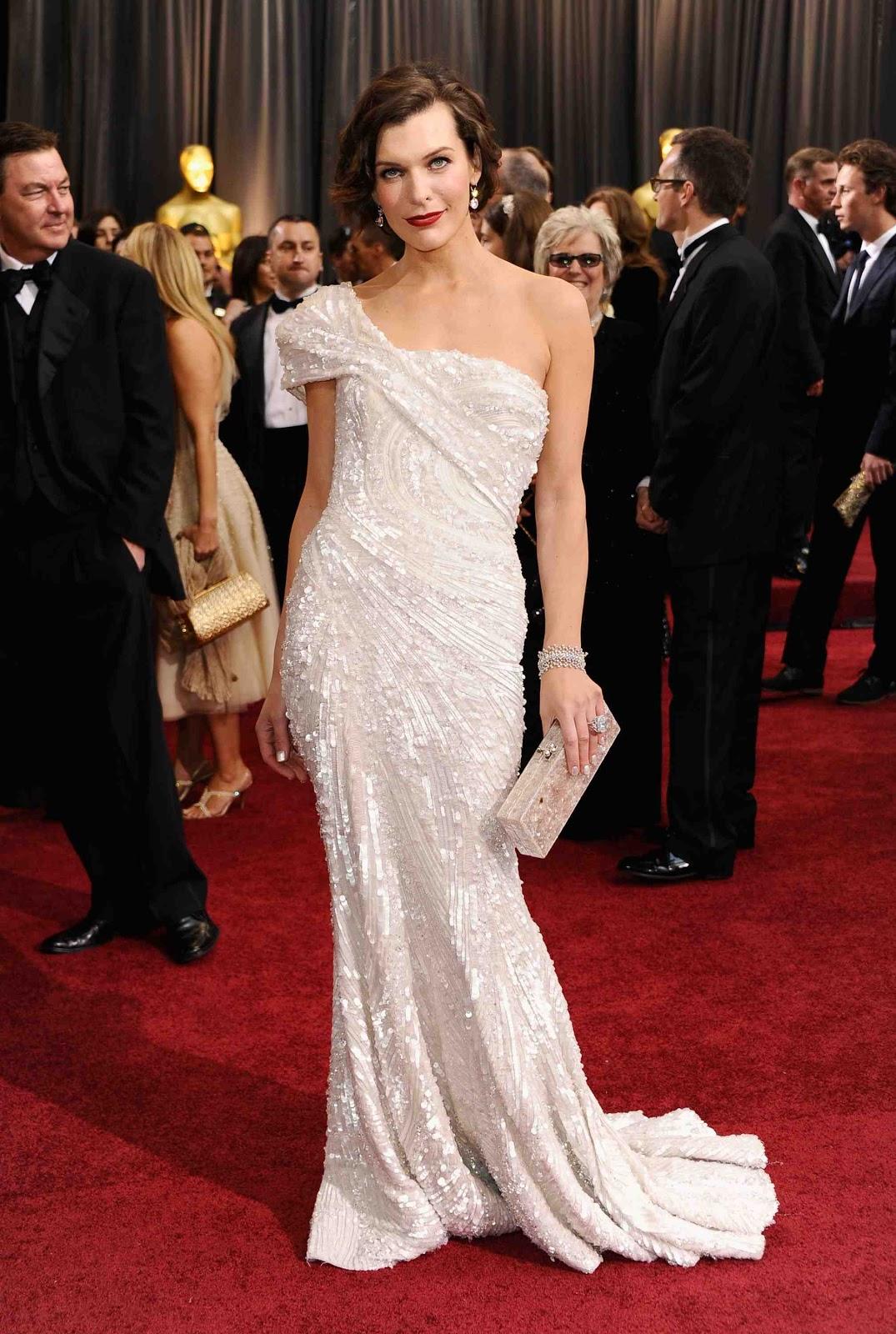 Milla Jovovich Oscar 2012