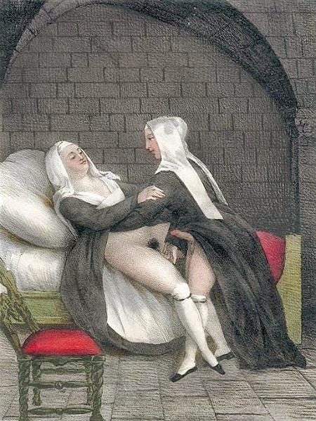 старое порно про монашек
