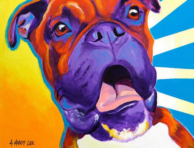 retratos-al-oleo-perro