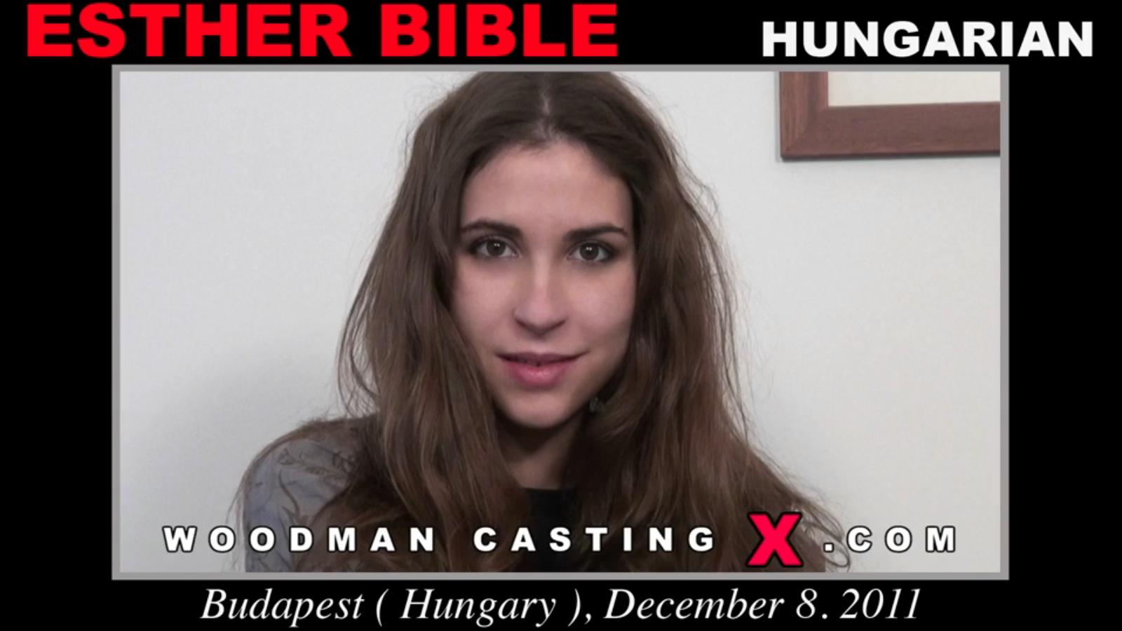 Esther Bible Woodman Casting X
