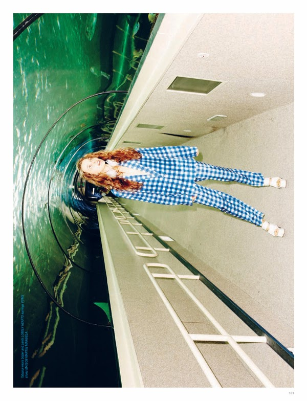 Imogen Wilson I Love Fake magazine fashion photography styling ben sullivan