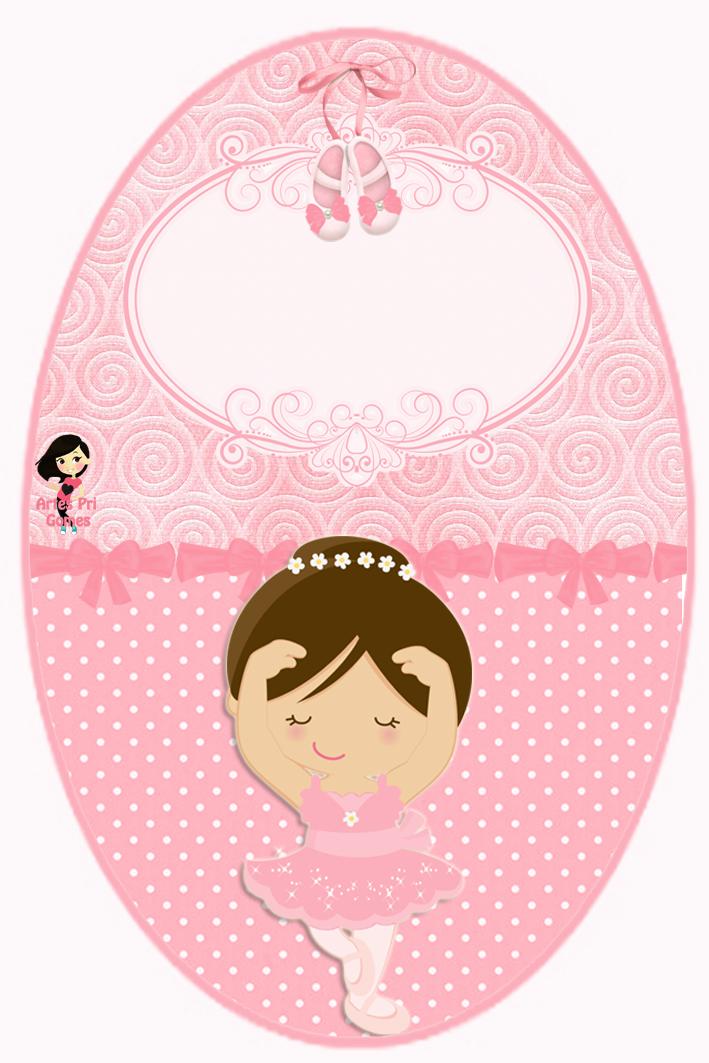 Aparador Gama ~ Personalizados Pri Gomes Todo encanto e delicadeza da Bailarina!