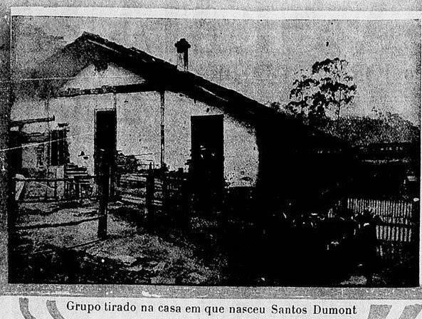 CASA ONDE NASCEU ALBERTO SANTOS DUMONT 1903