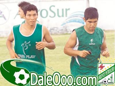 Oriente Petrolero - Ruben Darío Carvallo - Jonathan Delgadillo - Club Oriente Petrolero