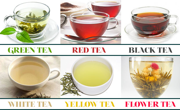 Image result for different type of teas