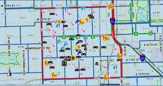 Crime In Chicago Bed And Breakfast In Englewood Experience - Chicago map crime