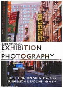 93rd Annual Exhibition of Photography poster