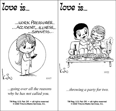 Love is comics by Kim
