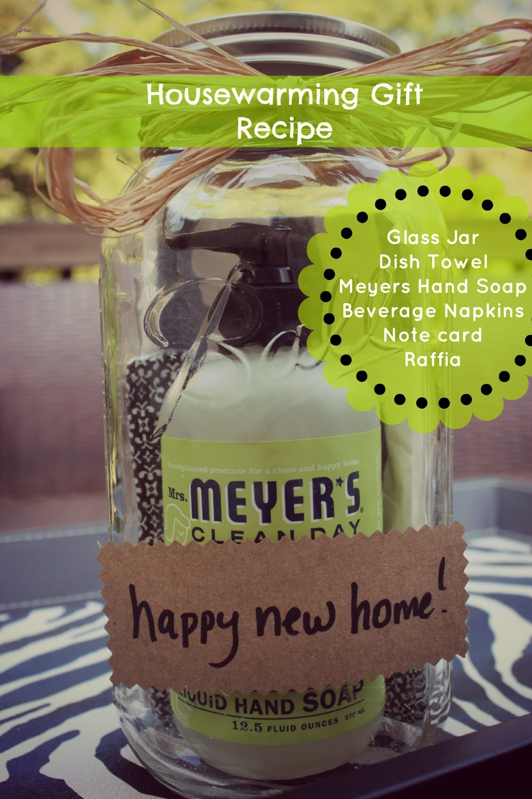Mason jar housewarming gift recipe southern state of mind for What makes a good housewarming gift