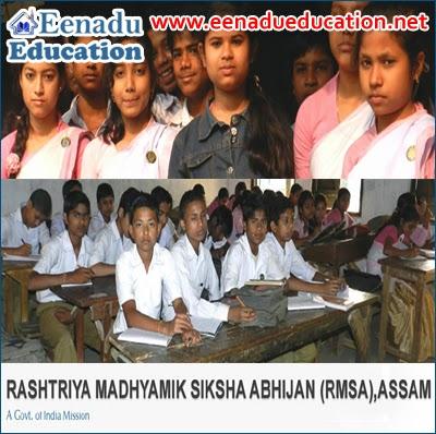 Teaching Posts @ Rashtriya Madhyamik Siksha Abhijan, Assam