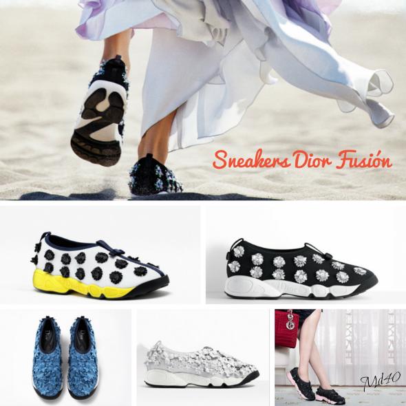 tendencias sneakers se llevaran esta primavera - verano 2015 Dior Fusion