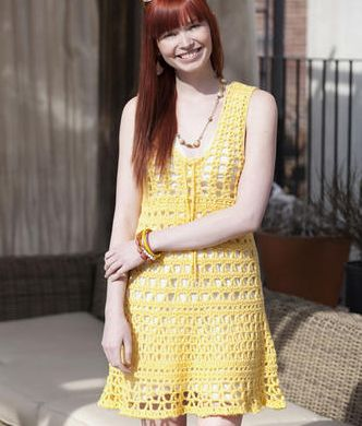 crochet sundress
