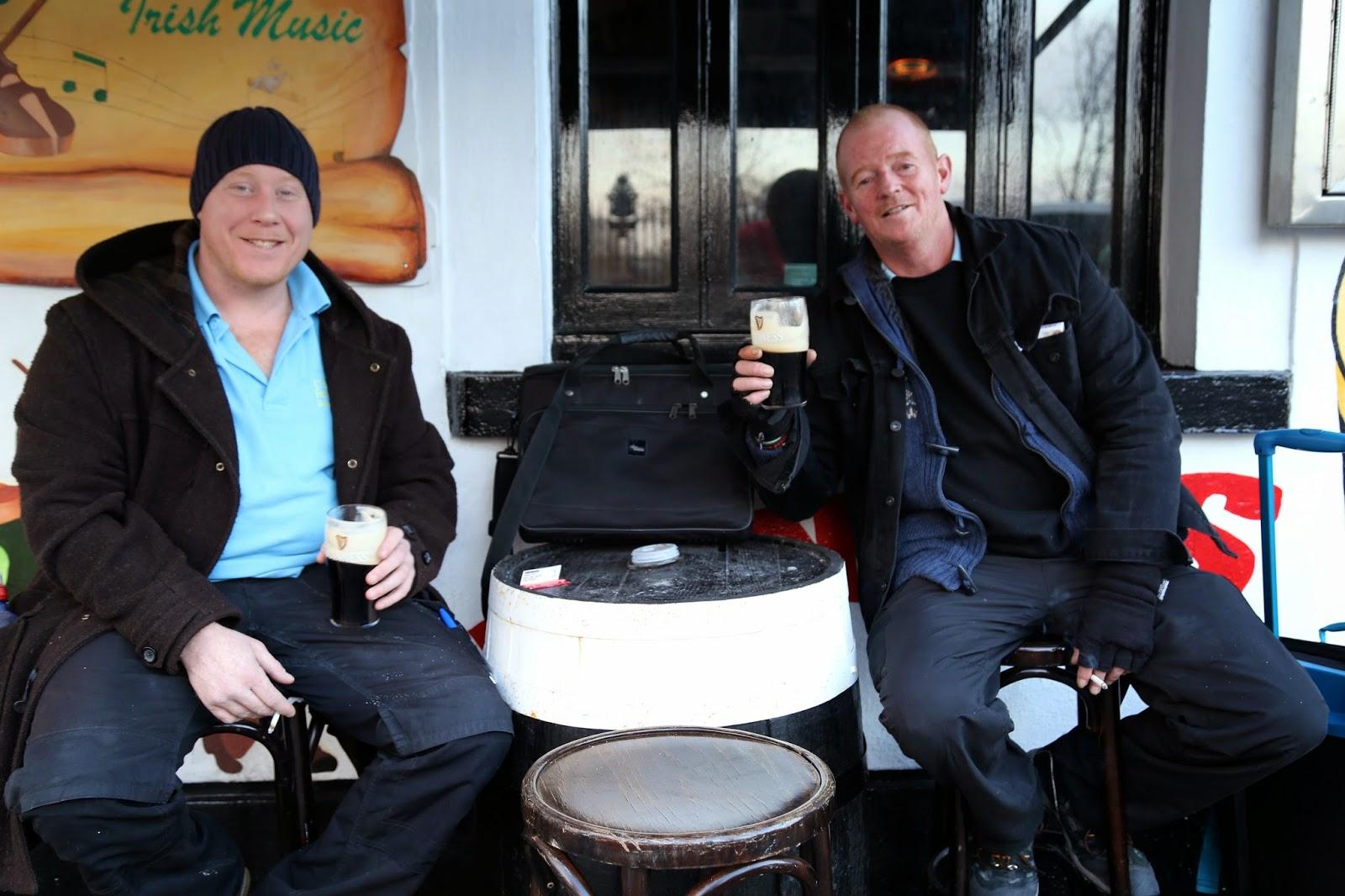 guinness drinkers, Dublin