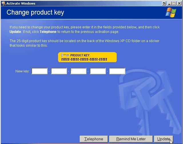 Скачать Ключ для активации Windows XP Home - Ключи для. схема жизненного ци
