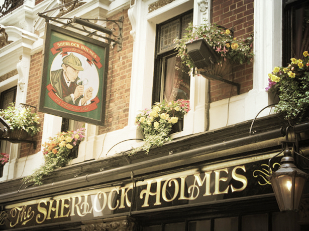 London Sherlock Holmes Library